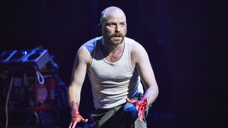 Rory Kinnear plays Macbeth at the Royal National Theatre, London. Picture: Brinkhoff-Moegenburg