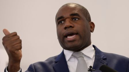 David Lammy, Labour MP for Tottenham, speaks Brexit and the Conservatives. Picture: PA