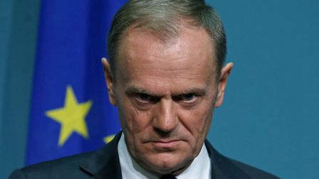 President of the European Council Donald Tusk