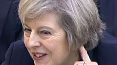 Prime Minister Theresa May gives evidence to the Commons Liaison Committee in Portcullis House, Lond