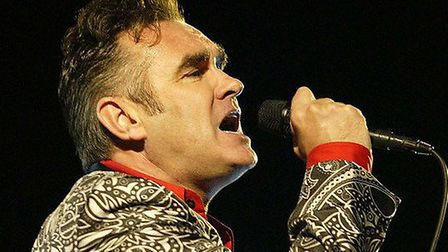 Morrissey. Picture: PA.
