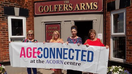Age Connected is launching a lunch club at the Golfers ArmsPicture: Jackie Tierney