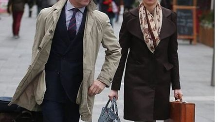 Henry Bolton's lover Jo Marney has given their relationship the hashtag #Jolton. Picture: Twitter
