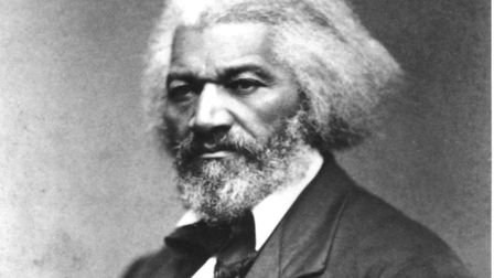 Frederick Douglass (1817-1895) pictured circa 1874 . Picture: Glasshouse Images/Cover Images