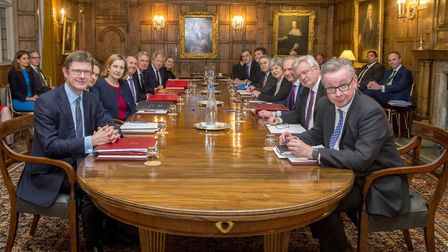 The Brexit war cabinet at Chequers