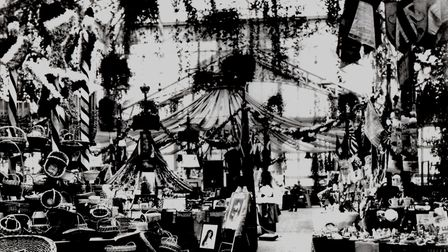 An Imperial Bazaar filled the Winter Gardens in 1908.