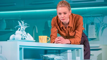 Carey Mulligan is appearing in Girls and Boys at the Royal Court Theatre. Photo Royal Court Theatre.