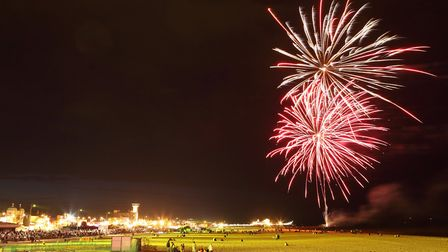 Fireworks have been staged in Yarmouth thanks to GYTABIA Picture: supplied