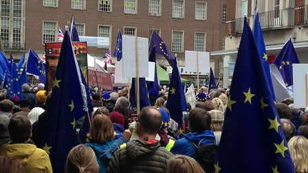 Exeter March. Picture: John Presley