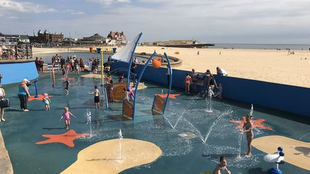 The success of the splash pad in Gorleston is bringing a new commercial opportunity the council is l