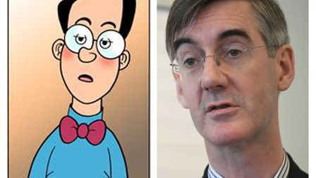 The Conservative MP has got himself into bother with the Beano after being accused of copying Dennis