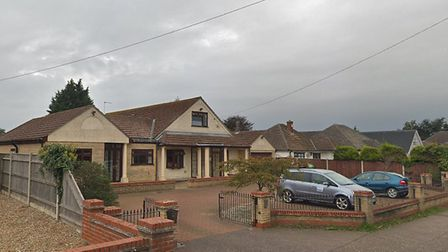 Sapphire House care home in Bradwell where James Delaney 37, was found dead on July 28, 2018. Pictur