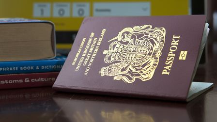 The present passport for the United Kingdom and Northern Ireland. Photo: PA Wire.