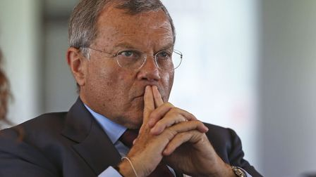 Martin Sorrell, Chairman and CEO of WPP. PICTURE: PA/Neil Hall.
