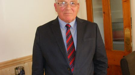 Tony Baker, chairman of Caister Parish Council Picture: supplied by Tony Baker