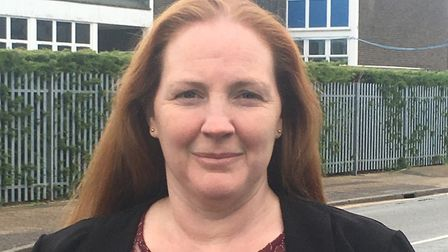 Cathy Cordiner-Achenbach, borough councillor for Southtown and Cobholm ward in Great Yarmouth. Pictu