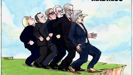Brexit madness. Picture: Gary Barker