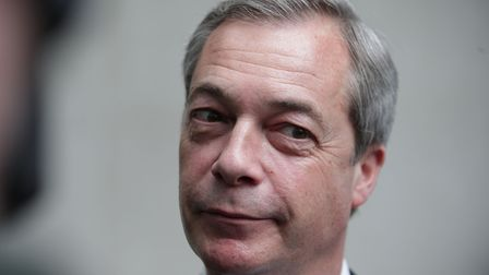 Nigel Farage apparently has 15 years of UKIP in his garage. Picture: Yui Mok/PA Archive/PA Images