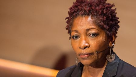 Bonnie Greer during a Women in the World conference. Picture: Dominic Lipinski/PA Archive/PA Images