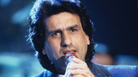 Toto Cutugno represented Italy at the Eurovision Song Contest 1990. PHOTO: Ullsteinbild/Topfoto
