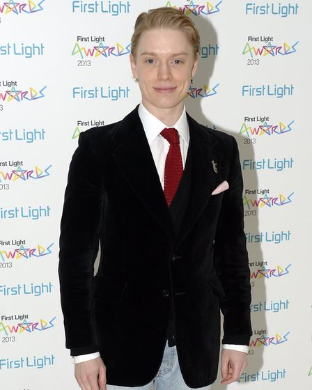 Freddie Fox arrives for the First Light Awards, a celebration of the next generation of British film