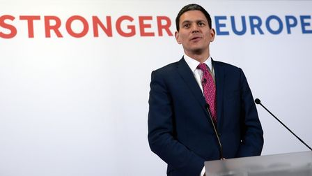 Former foreign secretary David Miliband will join other prominent Remainers in a bid to stop a hard