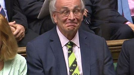 Peter Bone MP in the House of Commons