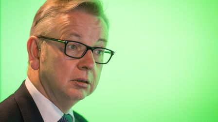 Environment Secretary Michael Gove during a visit to the Data Science Institute at Imperial College,