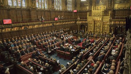 The House of Lords. Photograph: Dan Kitwood/PA.