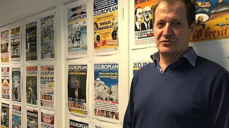 Alastair Campbell appears on the latest episode of The New European podcast. Photograph: Alastair Ca