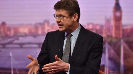 Greg Clark on BBC One's Marr Show on Sunday morning. Photograph: Jeff Overs/PA/BBC.