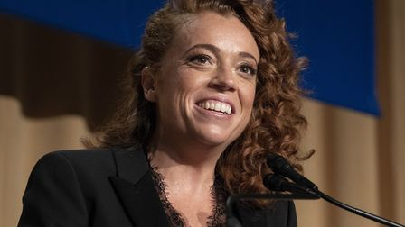Michelle Wolf at the 2018 White House Correspondents Association Annual Dinner at the Washington Hil