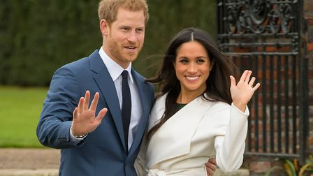 Prince Harry and Meghan Markle tie the knot at Windsor Castle on Saturday, May 19. Picture: Dominic
