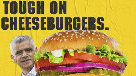 Tough on cheeseburgers. Picture: Archant