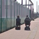 An empty Great Yarmouth seafront during COVID19 lockdown. Pictures: BRITTANY WOODMAN