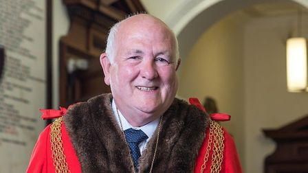 Michael Jeal will carry on for another year as mayor of Great Yarmouth after the annual ceremony tha