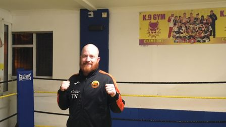 Tony Norman, 36, who runs Spartans boxing group at Legends Gym in Great Yarmouth. Picture: Joseph No