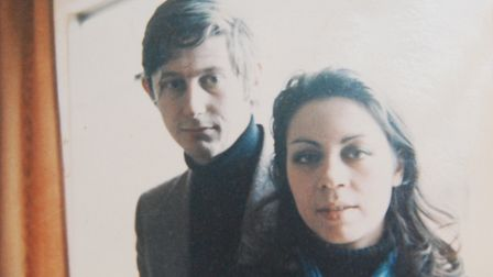 Peter and Lucia Fieldman in their Paris Apartment, 1968. Picture: Contributed