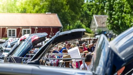 Stock image of a car boot sale. Photo: Getty Images.