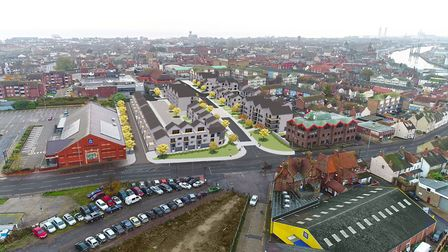 A visualisation of The Conge redevelopment. PHOTO: Great Yarmouth Borough Council