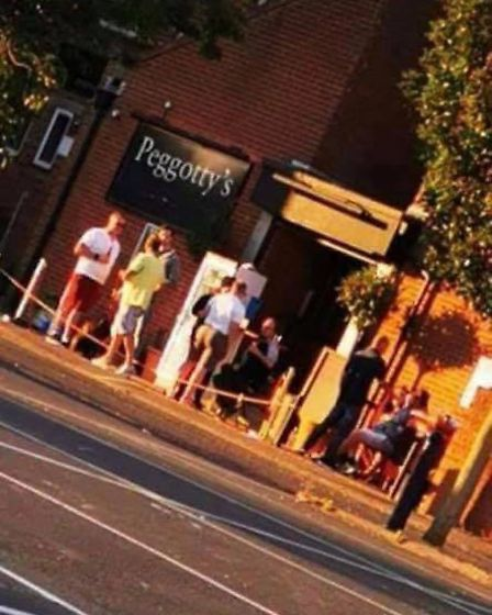 Peggoty's Bar in Great Yarmouth received a prohibition notice from the council which said they had b