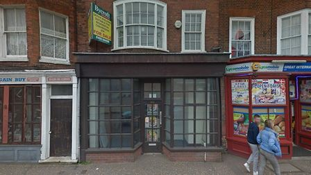 The building on King Street in Great Yarmouth could be converted into six flats. Picture: Google Map