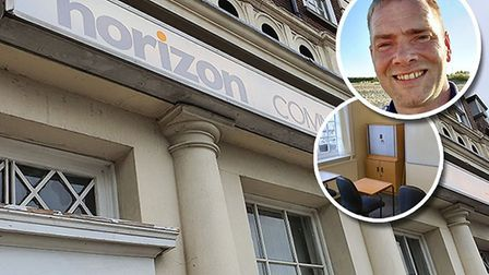 Mark Shanahan, 40, is opening Horizon, a new communty training centre on Hall Quay in Great Yarmouth