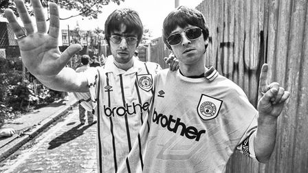 Britpop's Oasis as photographed by Kevin Cummins