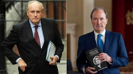 A photo of Paul Dacre and Lord Charles Moore