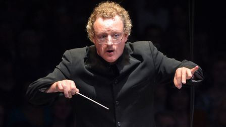 Howard Goodall performs during Classic FM Live at the Royal Albert Hall, London