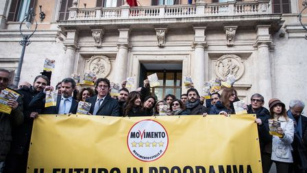 The 5 Stars Movement, today launched in Piazza Montecitorio in Rome the next election campaign to be