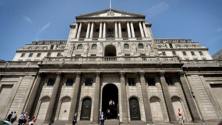 The Bank of England. Picture: Anthony Devlin