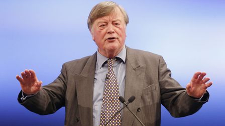 Ken Clarke addresses the 2014 Scottish Conservative Party. Picture: PA