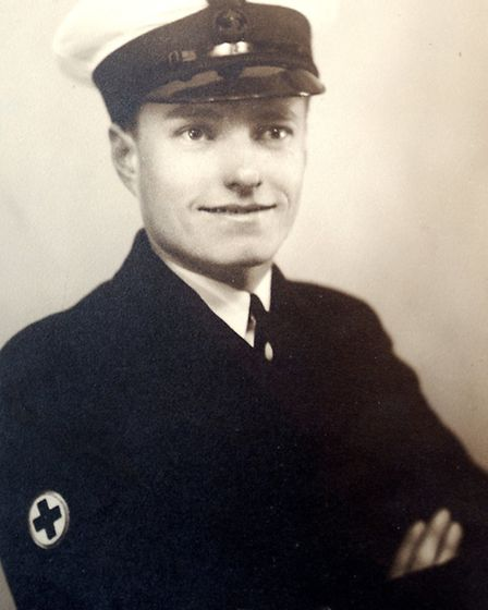 Archie Mayes as a young man.